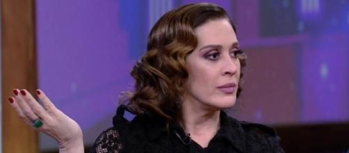 Claudia Raia se irrita com Porchat