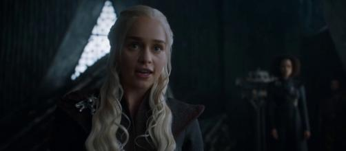 Fan theory hints that Daenerys Targaryen may not be an end game character after all. source: Kristina R/ youtube