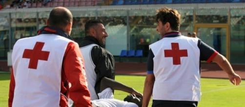 Inter Miranda infortunio - teleischia.com