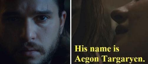 Jon Snow aka Aegon Targaryen. Screencap: TheGaroStudios, Stark via YouTube