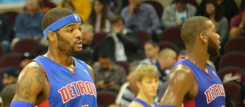 Josh Smith with the Detroit Pistons (c) https://www.flickr.com/people/62091376@N03