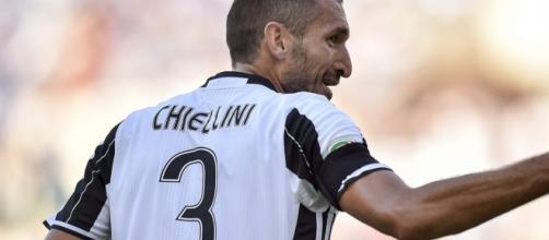 Juventus, infortunio al polpaccio per Chiellini: gli aggiornamenti