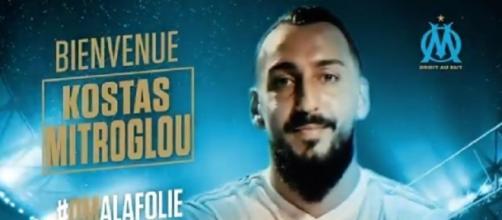Kostantinos Mitroglou est le nouvel attaquant de l'Olympique de Marseille