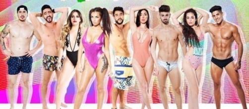 Participantes de MTV Super Shore a la italiana.