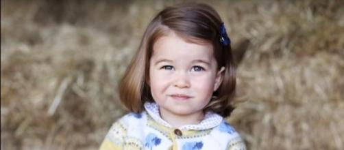 Princess Charlotte- (YouTube/The Royal Family Channel)