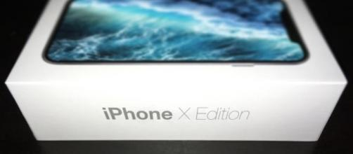Scatola iPhone x trapelata in rete