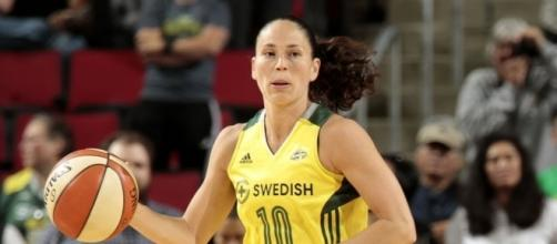 Sue Bird and Seattle are looking to clinch the final 2017 WNBA Playoff spot with a win on Friday. [Image via WNBA/YouTUbe]