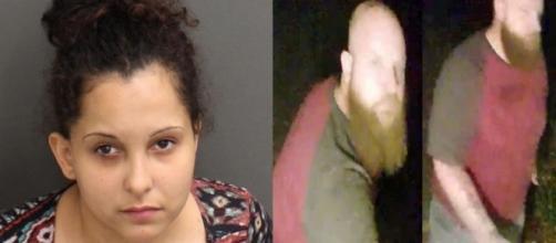 Suzy Fitzpatrick disse à polícia que estava em uma casa de swing com o marido para tentar livrá-lo de um crime (Crédito: Twitter/ News 6 WKMG)