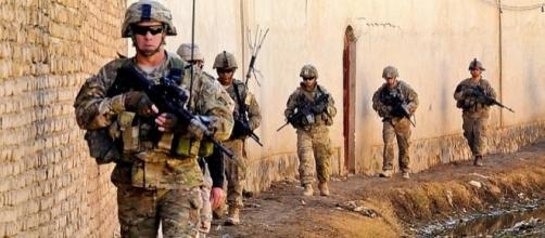 U.S. troops in Kandahar province (Credit - Sean Martin – wikimediacommons)