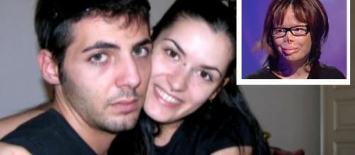 Valentina Pitzalis con il marito Manuel Piredda prima del rogo del 2011 in cui lui morì e lei rimase ustionata e sfigurata. Foto: YouTG.net.