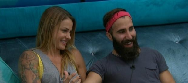'Big Brother 19' Christmas Abbott and Paul Abrahamian ** used w/ permission CBS Press