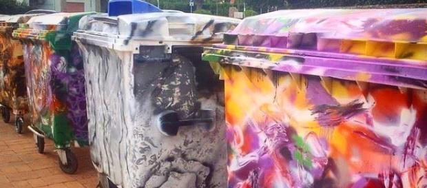 Gartbage - Cassonetto d'Artista