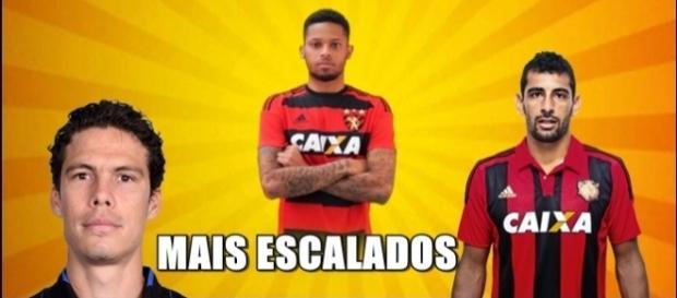 Hernanes, André e Diego Souza são os três jogadores mais escalados até o momento.