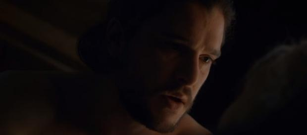 "Jon Snow in ""The Dragon and The Wolf."" - Image Credit: GameofThrones/YouTube"