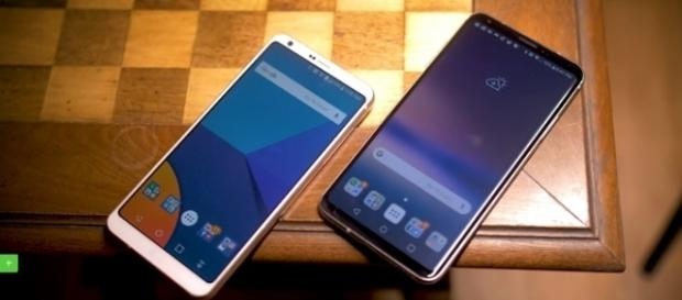 LG G6 vs LG V30 | credit, Android Authority, YouTube