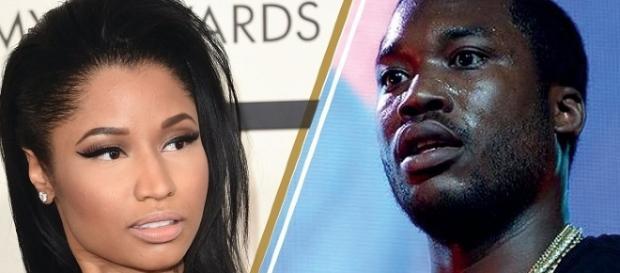 Nicki Minaj, Meek Mill - Image via YouTube/Hollyscoop