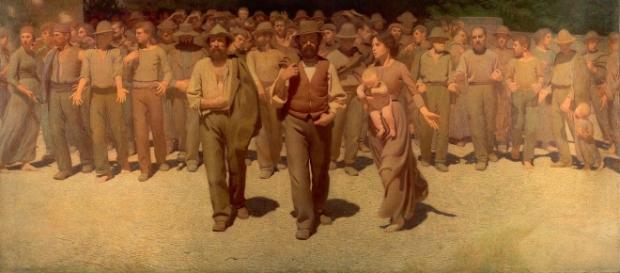 Quarto Stato, il dipinto è da sempre associato alle lotte degli operai