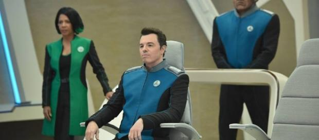 Seth MacFarlene leads the cast of 'The Orville,' a sci-fi comedy on Fox. ~ Facebook/TheOrville