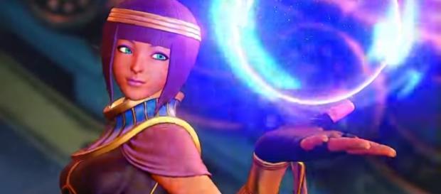 SFV: Menat Reveal Trailer - YouTube/Street Fighter