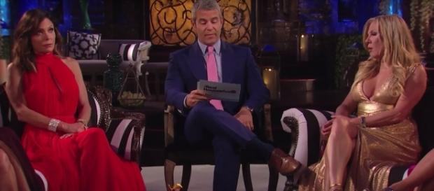 What was revealed that didn't air on the 'RHONY' reunion? - Bravo/YouTube