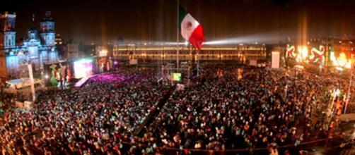 El 15 de septiembre, aniversario de la Revolución Mexicana.