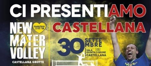 30 settembre presentazione ufficiale New Mater Volley Castellana