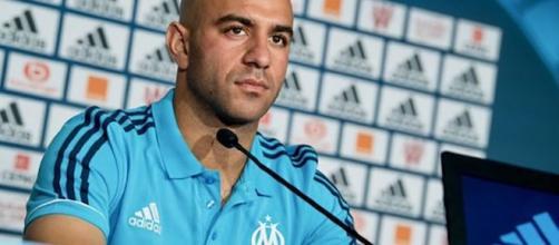 Aymen Abdennour, défenseur de l'Olympique de Marseille