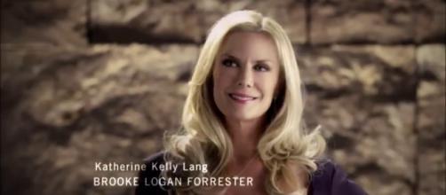Brooke Logan soap opera Canale 5