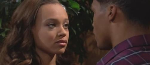 CBSsoaps.com. Nicole and Zende. The Bold and the Beautiful.