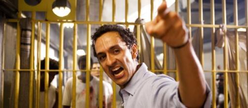 Ativista do filme ''Tropa de Elite 2', que critica a superlotação nas cadeias do Rio de Janeiro