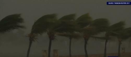 Hurricane Irma lashed Cuba on Friday (Image credit: Emma King/YouTube