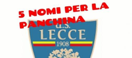 Il Lecce deve scegliere il nuovo allenatore.