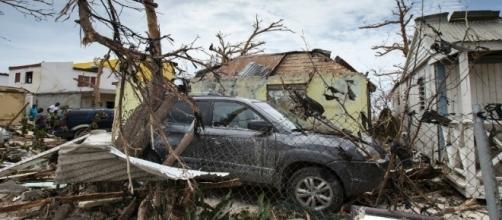 Imágenes de los daños generados por el huracán Irma a su paso por el Caribe.