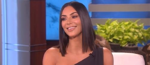 "Kim Kardashian doesn't care what anyone thinks—she posts nude photos because it makes her feel ""powerful."" (YouTube/TheEllenShow)"
