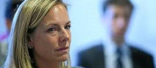 Kirstjen Nielsen is the new chief of staff of the DHS. https://c1.staticflickr.com/9/8619/16434149861_85e6f46e47_b.jpg