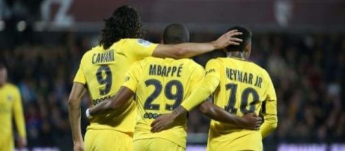 Le PSG peut se concentrer sur sa saison et son attaque de feu (photo : foot mercato)