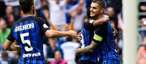 L'Inter batte la Spal 2-0 grazie ad Icardi e Perisic