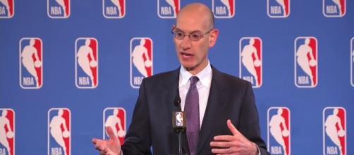 NBA Commissioner Adam Silver (via YouTube - Er1cW00 TV)