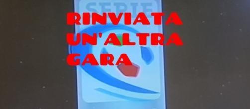 Rinviata una gara di Serie C..