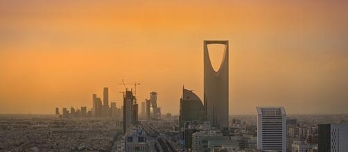 Riyadh https://en.wikipedia.org/wiki/File:Riyadh_Skyline_showing_the_King_Abdullah_Financial_District_(KAFD)_and_the_famous_Kingdom_Tower_.jpg