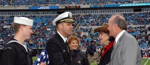 Thank you, gentlemen. US Navy via Wikimedia Commons