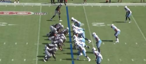 The Raiders visit the Titans in Week 1 of the 2017 NFL regular season on Sunday. [Image via NFL/YouTube]