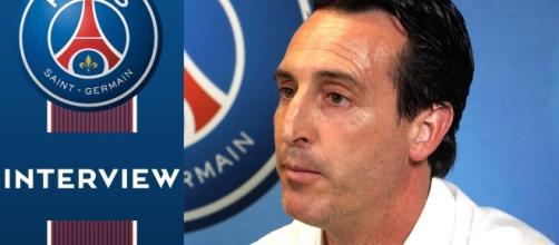 Unai Emery, l'entraîneur espagnol du Paris SG