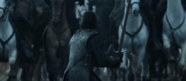 Battle of the Bastards,Jon Snow, Game of Thrones- (YouTube/Game of Thrones)