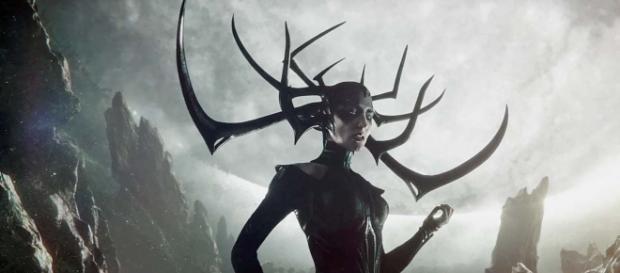 "Cate Blanchett stars in ""Thor: Ragnarok"" as Hela (Youtube screen grab)"