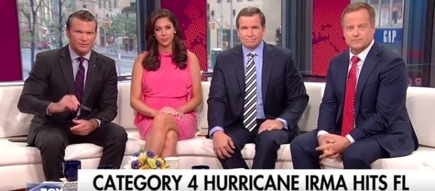 Fox News on Hurricane Irma, via YouTube