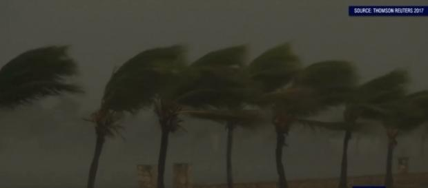 Hurricane Irma lashed Cuba on Friday (Image credit: Emma King/YouTube