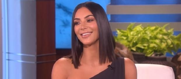 """Kim Kardashian doesn't care what anyone thinks—she posts nude photos because it makes her feel """"powerful."""" (YouTube/TheEllenShow)"""