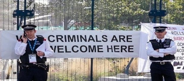 Prisões no Reino Unido por conta de evento internacional