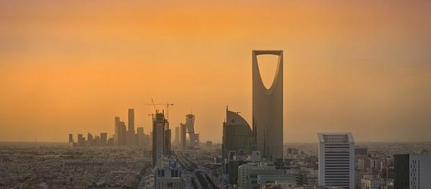 Riyadh https://en.wikipedia.org/wiki/File:Riyadh_Skyline_showing_the_King_Abdullah_Financial_District_(KAFD)_and_the_famous_Kingdom_Tower_.jpg